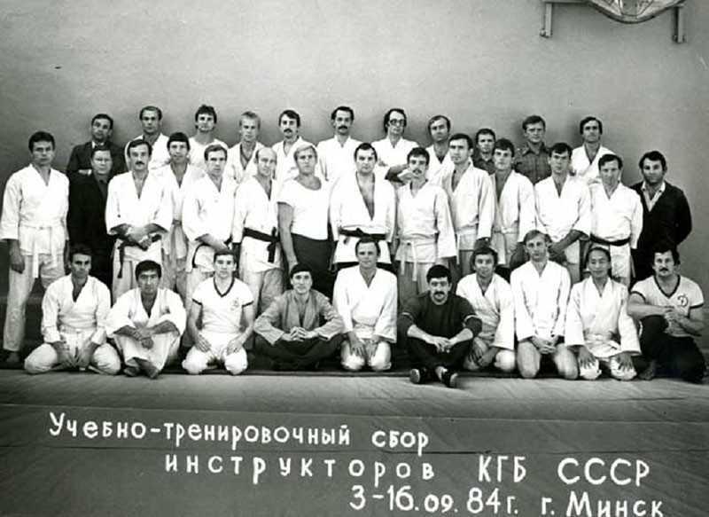 Учебно-тренировочный сбор КГБ.