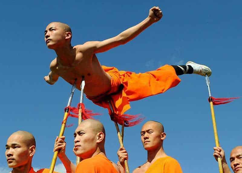 Монахи шаолиня