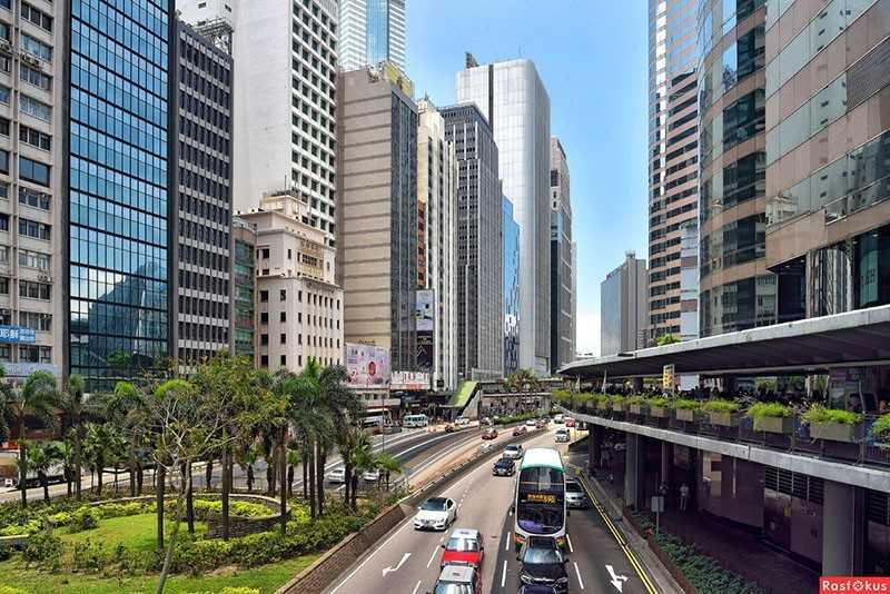 Район Central, Гонконг.