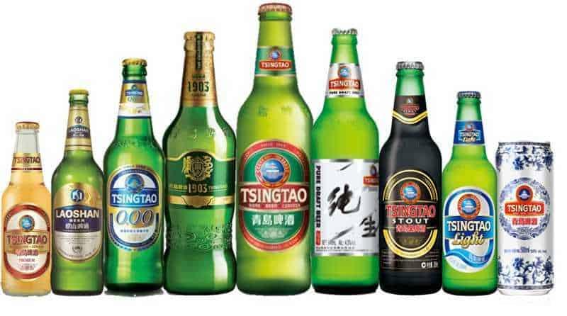 Разновидности пива Циндао