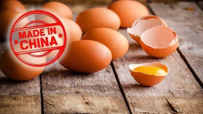 Поддельные яйца в Китае – правда или вымысел