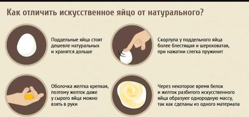 Проверка подлинности поддельных яиц