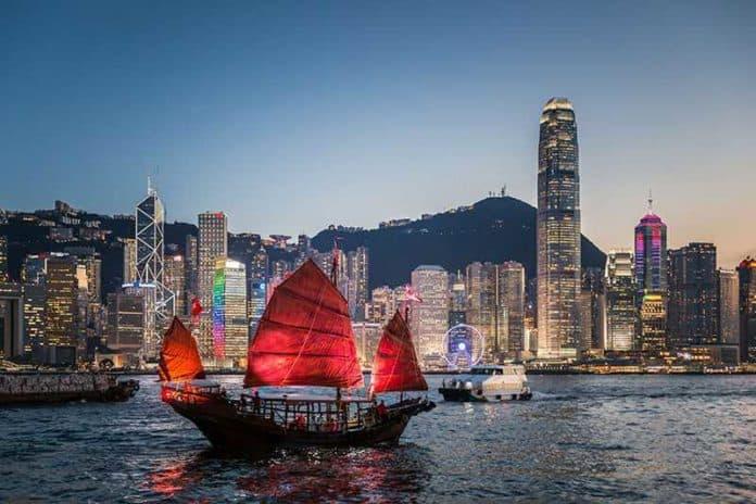 Чья столица Гонконг?