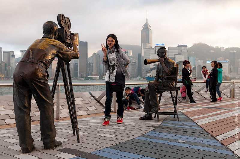 авеню звезд в Гонконге