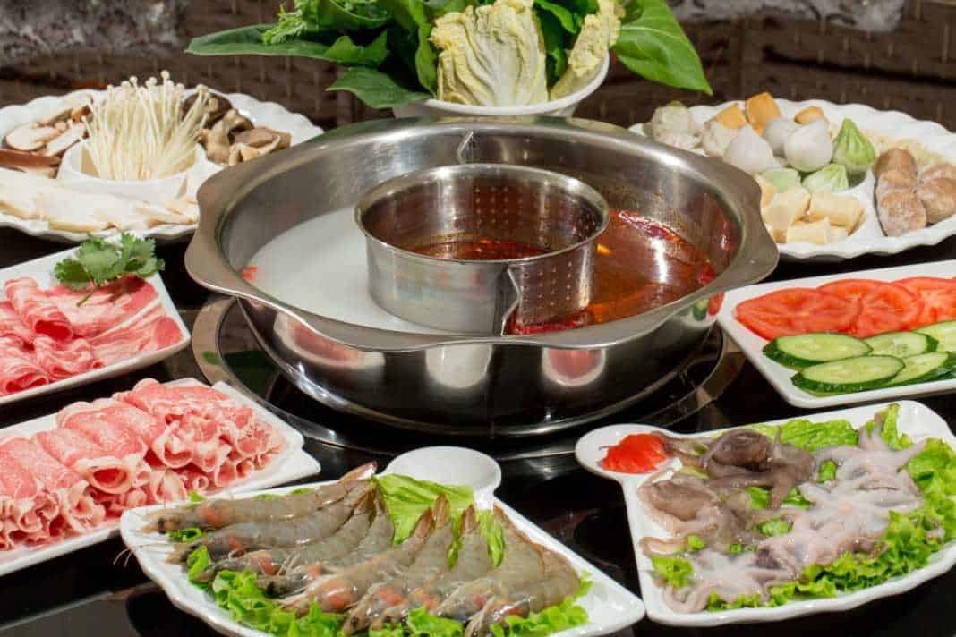Ингредиенты для хого - китайская кухня