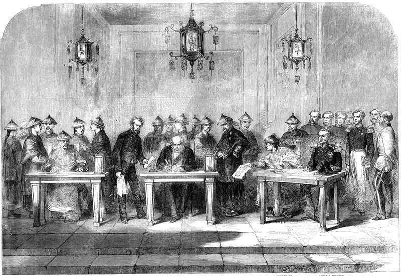 заключение мирного договора