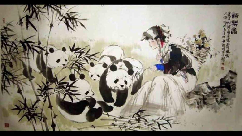 Образ панды в культуре Китая
