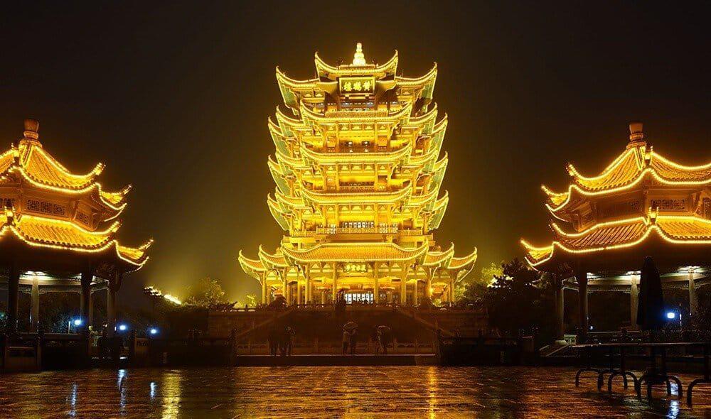 Башня желтого аиста (Хуанхэлоу).