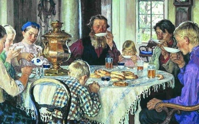 История китайского чая в России