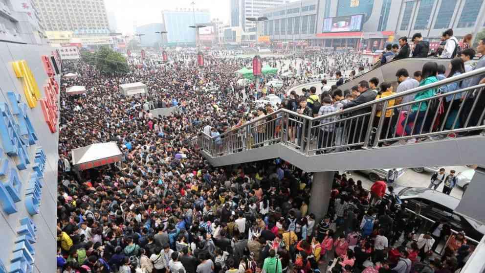 Золотая неделя в Китае