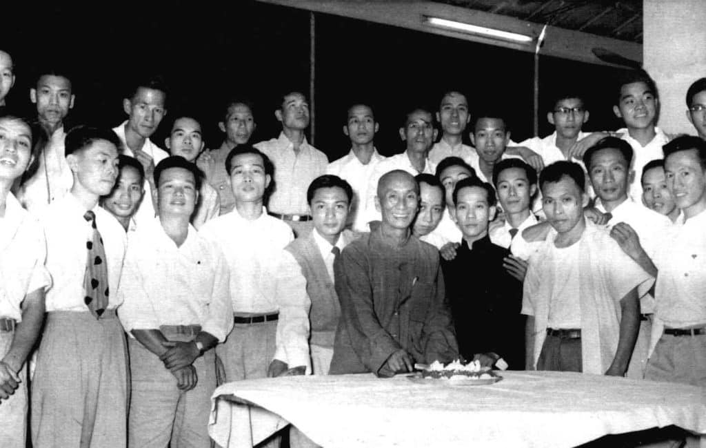 Ип Ман со студентами