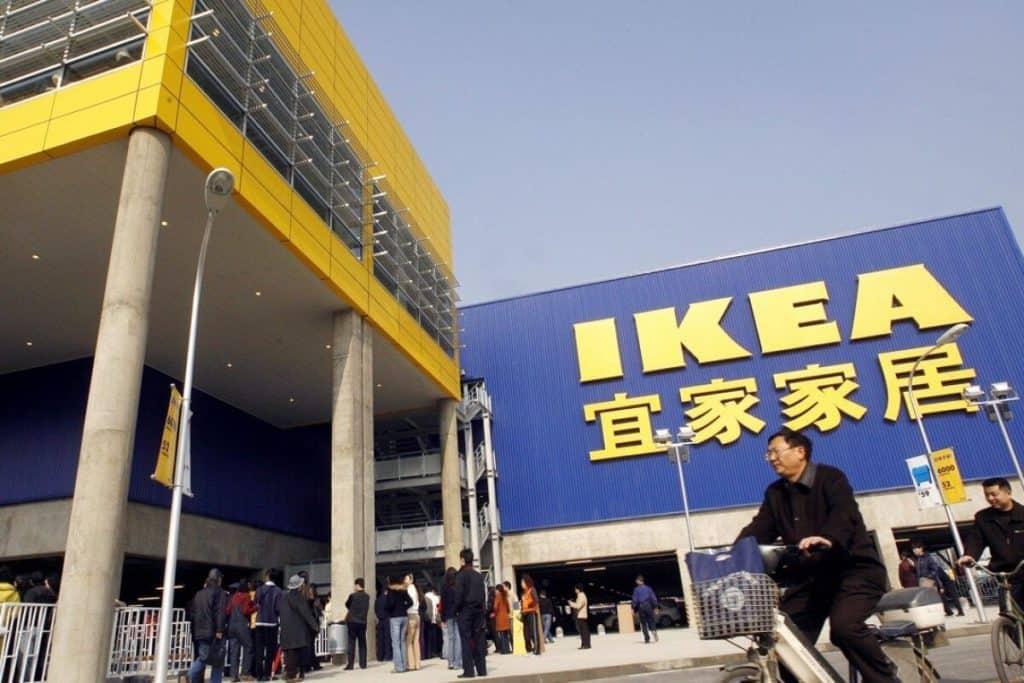 Ikea в Китае