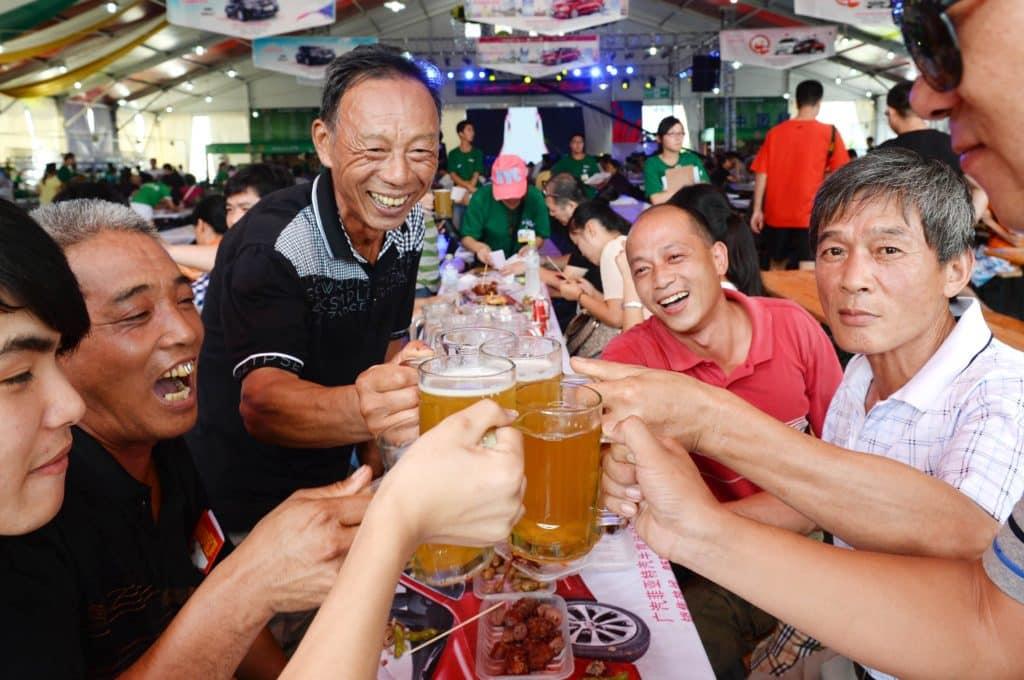 Китайцы и алкоголь