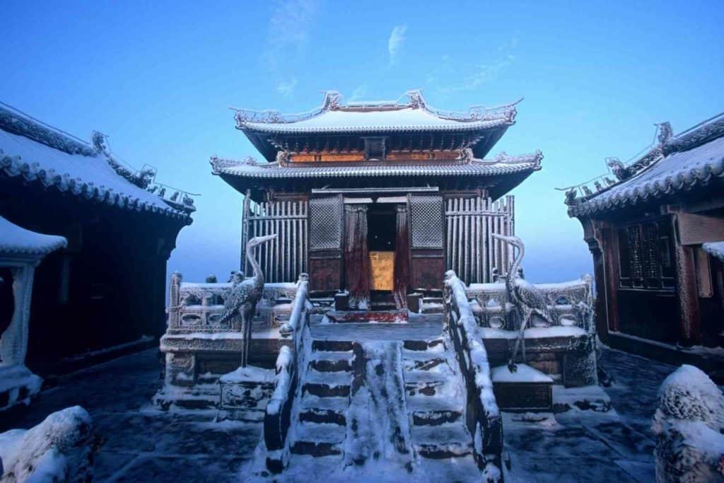 Даосский храм на горе Удан