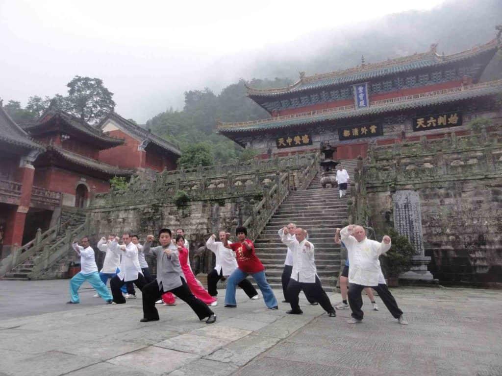 Дворец Цзысяо. Уданшань