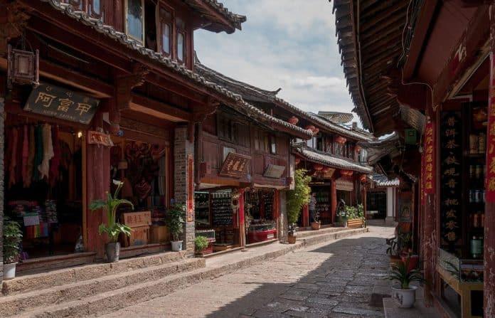Лицзян (丽江) горная Венеция Юньнани