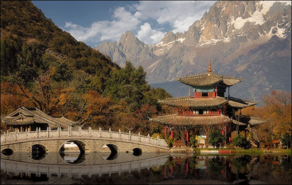 Древний город Лицзян архитектура
